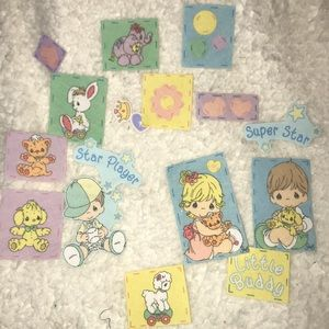 Precious Moments Other - New Lot Of Precious Moments Iron on Appliqués